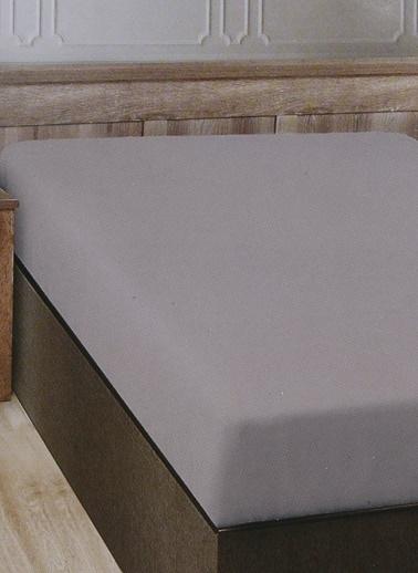 Boyner Evde Boyner Evde 160 x 240 cm Tek Kişilik Bej Düz Çarşaf Bej